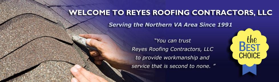 reyes roofing contractors northern va